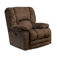 Chocolate Brown Wall Hugger Power Recliner - Hardin
