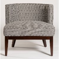 Slate Gray Accent Chair - Chandler