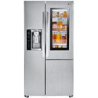 LSXC22396S LG Counter Depth Side by Side Door-in-Door Refrigerator - 21.74 cu. ft., 36 Inch Stainless Steel