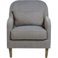 Navy Blue Accent Chair - Harvard