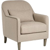 Pebble Tan Accent Chair - Harvard