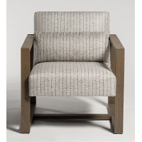 Twill Beige Accent Chair - Soho
