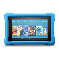 B01J90MSDS Amazon Fire Kids 7 Inch 16GB - Blue Kid-Proof Case