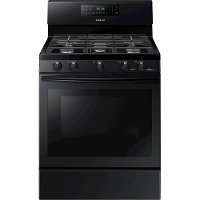 NX58M5600SB Samsung 5.8 cu. ft. Freestanding Gas Range with Convection - Black