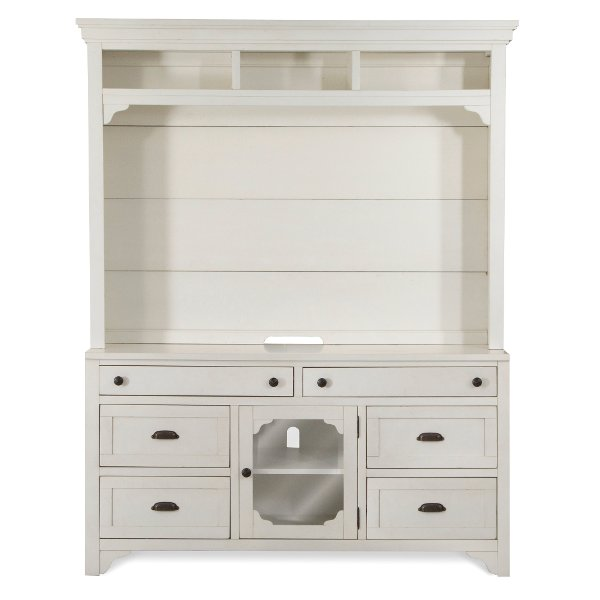 ... Clearance Colonial White 2 Piece Antique Entertainment Center    Coventry Lane