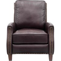 Shoreham Whiskey Dark Brown Power Recliner - Melrose
