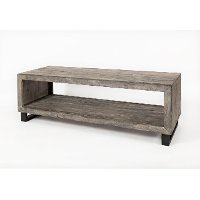 Modern Gray Coffee Table - Mulholland Drive