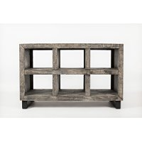 Modern Gray Sofa Table - Mulholland Drive