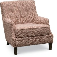 1355-01MAXCRL Maxwell Coral Accent Chair - Fredrick