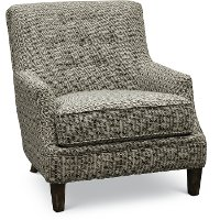 1355-01MAXEBY Maxwell Ebony Accent Chair - Fredrick