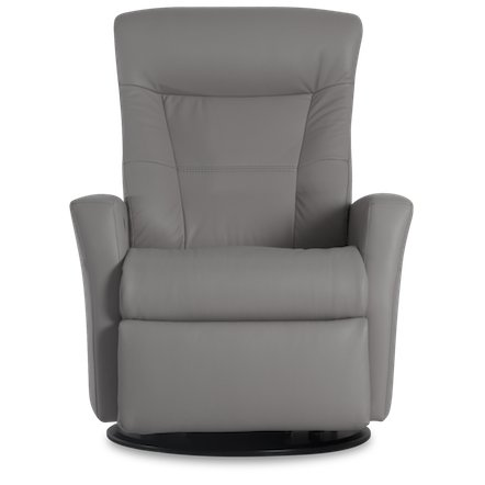... Cinder Leather Large Swivel Glider Power Recliner - Grove  sc 1 st  RC Willey & Gliders u0026 Rockers - Chairs - Living Room - RC Willey