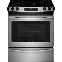 FFES3026TS Frigidaire 30 inch Slide-In Electric Range - Stainless Steel