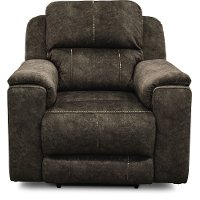 Coco Brown Power Recliner - Imprint