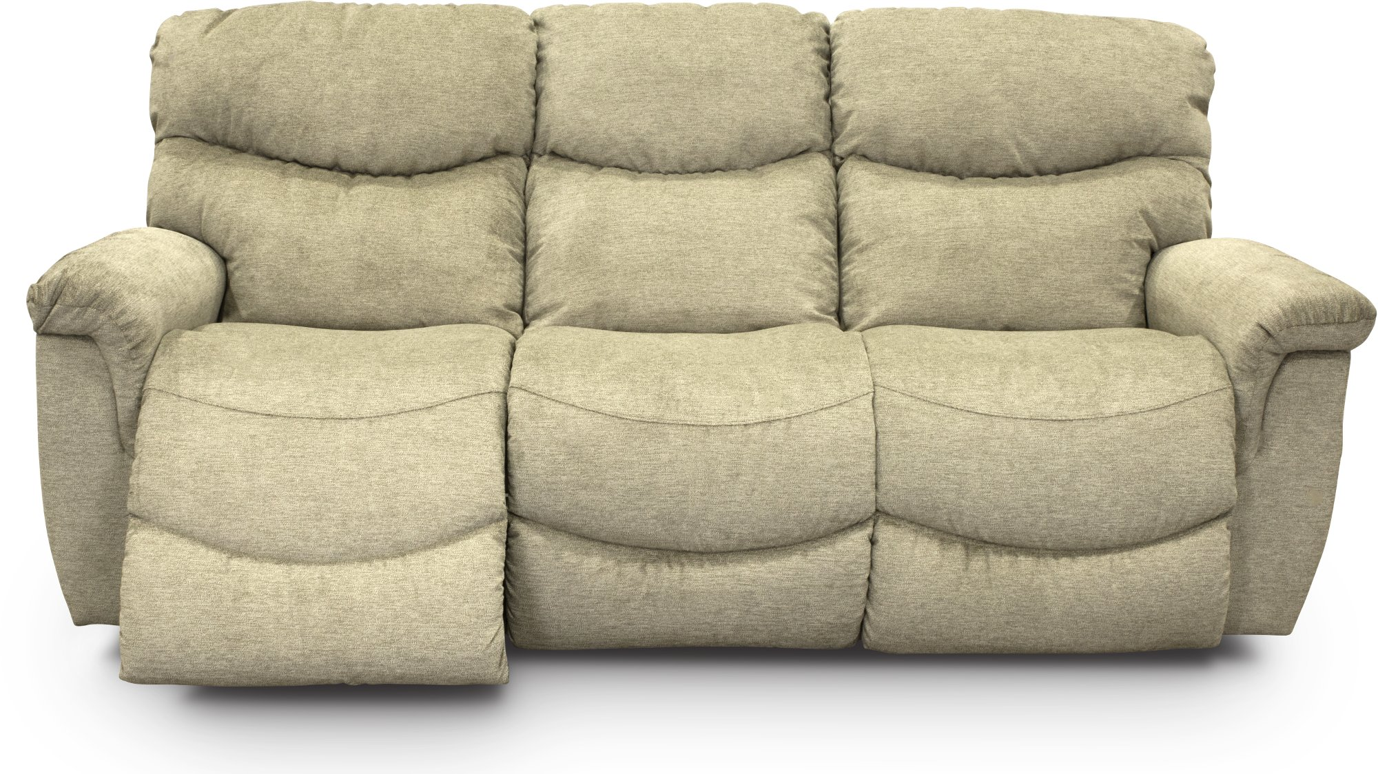 Green Manual Full Reclining Sofa Console Loveseat James Rc Willey Furniture Store