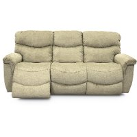 Green la z time power full reclining sofa james rc for Z furniture outlet las vegas