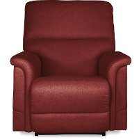 1HR-737/D148707/PRCL Burgundy ReclineXR+ Reclina-Rocker Power Recliner - Oscar