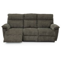 44U-706/C144658PSO Gray La-Z-Time Power Recline Full Reclining Sofa - Jay