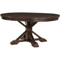 Tobacco Brown Dining Room Table - Montreal