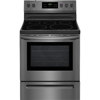 FFEF3054TD Frigidaire Electric Range - 5.3 cu. ft. Black Stainless Steel