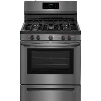 FFGF3054TD Frigidaire Gas Range with Quick Boil - 5.0 cu. ft. Black Stainless Steel