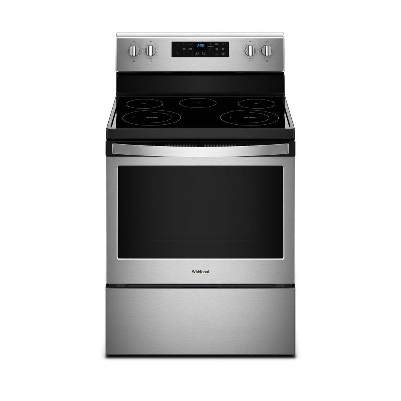 Whirlpool Smoothtop Electric Range - Stainless Steel