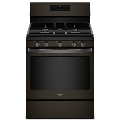 WFG525S0HV Whirlpool 5.0 cu. ft. Gas Range - Black Stainless Steel