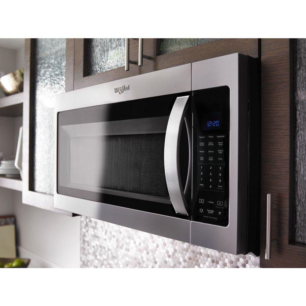 option cu the microwave microwaves steamclean with ft cooking over countertop range whirlpool primary