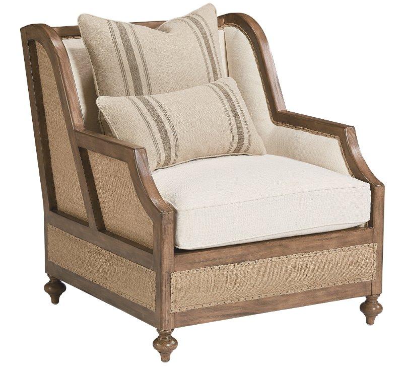 Merveilleux Magnolia Home Furniture Linen U0026 Burlap Chair   Foundation