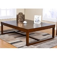 Sable Brown Coffee Table - McCoy