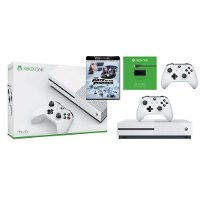 XB1 4KBUN1 XBox One 1 TB 4K with Extra Controller featuring The Fate of the Furious in 4K Bundle - White