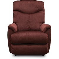 10-728/B148909/REC Merlot Burgundy Manual Rocker Recliner - Hunter