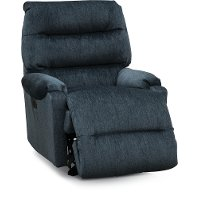 Navy Blue Small Scale Power Rocker Recliner - Sedgefield