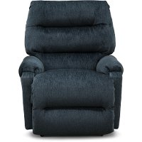 Navy Blue Small Scale Manual Rocker Recliner - Sedgefield