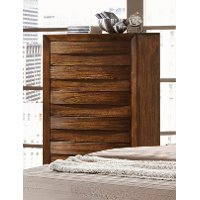 Rustic Modern Oak Chest of Drawers - Kelton