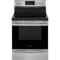 FGEF3059TF Frigidaire 30 Inch Electric Range with Convection Self-Cleaning Oven - Stainless Steel