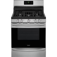 FGGF3036TF Frigidiare Gallery 5.0 cu. ft. Gas Range with Self-Cleaning QuickBake Convection - Stainless Steel