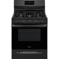 FGGF3036TB Frigidiare 5.0 cu. ft. Gas Range with Self-Cleaning QuickBake Convection - Black