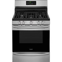FGGF3059TF Frigidaire Stainless Steel 5.0 cu. ft. Gas Range with Convection Self-Cleaning Oven
