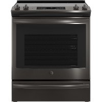 JS760BLTS GE Electric Range - 5.3 cu. ft. Black Stainless Steel