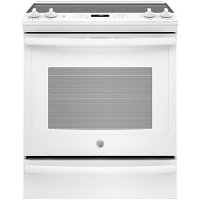 JS760DLWW GE Slide-In Electric Convection Range - White