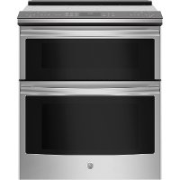 PS960SLSS GE Profile Double Oven Electric Smart Range - 6.7 cu. ft. Stainless Steel