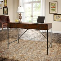 Cherry Writing Desk  (48 Inch) - Ironworks