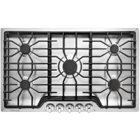 FFGC3626SS Frigidaire 36 Inch Gas Cooktop - Stainless Steel