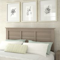 Ash Gray Full or Queen Headboard - Somerset