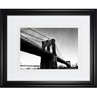 Bridge of Brooklyn Framed Wall Art