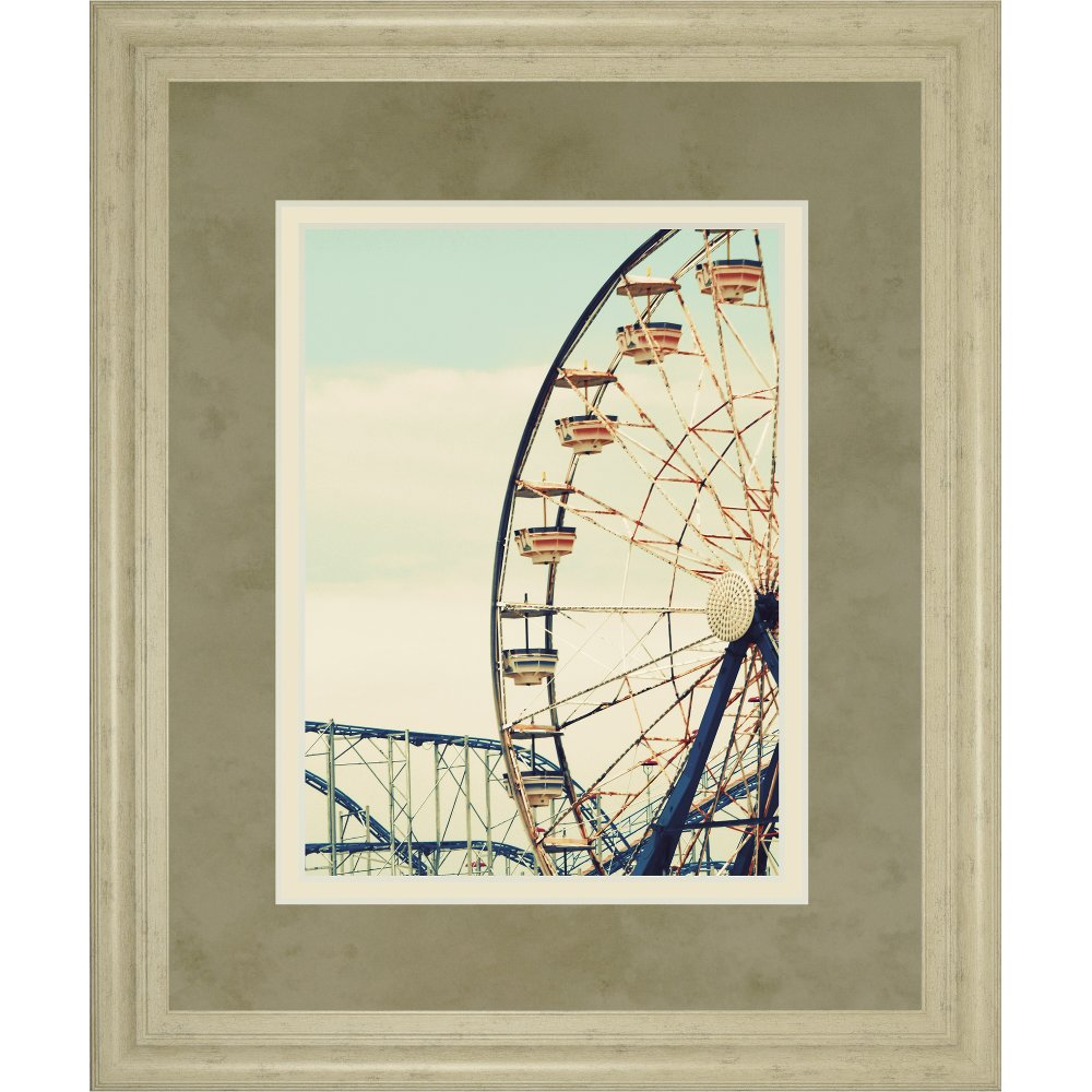 Retro Ferris Wheel Framed Wall Art | RC Willey Furniture Store