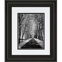 Follow Me Black and White Framed Wall Art