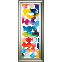 Bright Multi-Color Circles III Framed Wall Art