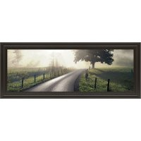 Mountain Morning Glory Road Framed Wall Art