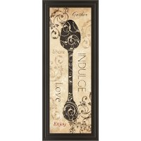 Indulge Spoon Framed Wall Art